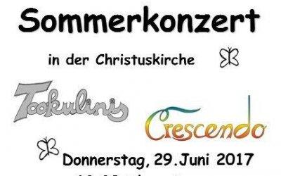 Einladung zum Sommerkonzert